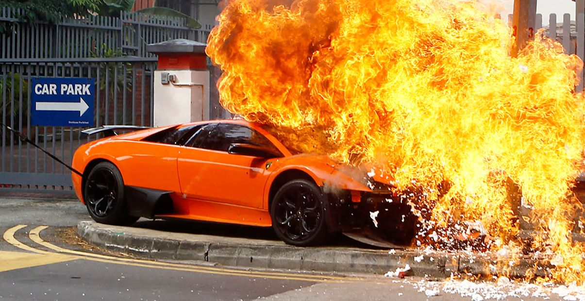 20 Cars With The Highest Chances Of Catching On Fire! | HotCars