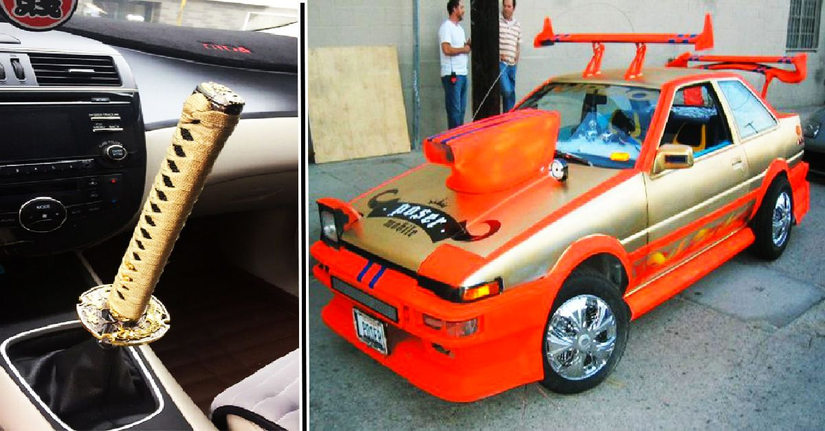 20 JDM Mods That Aren't Safe For Your Eyes | HotCars
