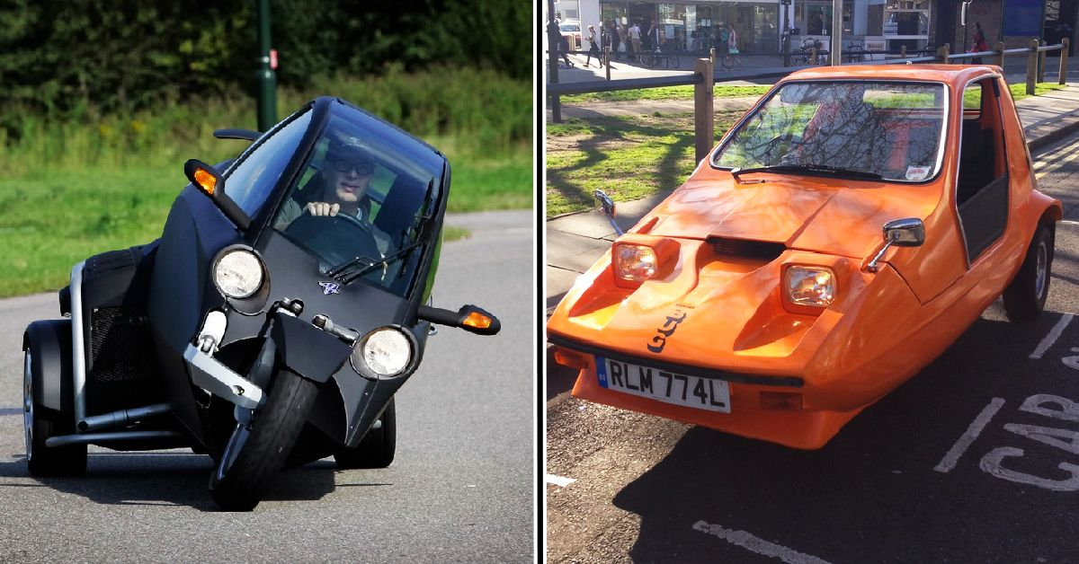 25 Three-Wheeled Cars Automakers Want People To Forget