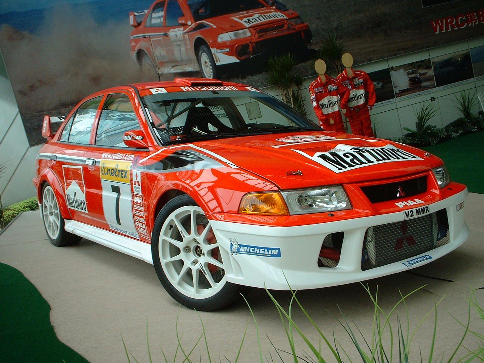 7th 2001 MITSUBISHI LANCER EVOLUTION VII RS (BY SUN AUTOMOBILE)
