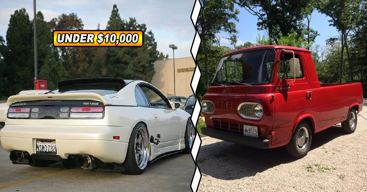 20 Of The Sweetest Cars You Can Buy For Under $10,000   HotCars