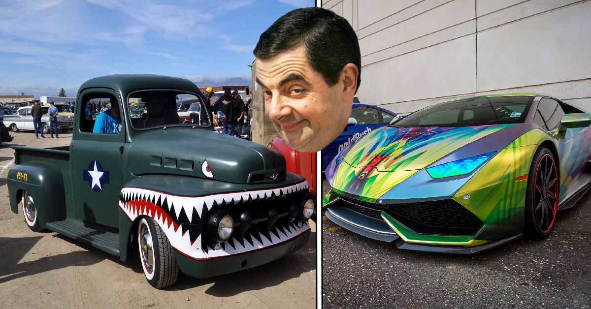 12 Of The Sickest Custom Paint Jobs (And 12 Of The Worst)