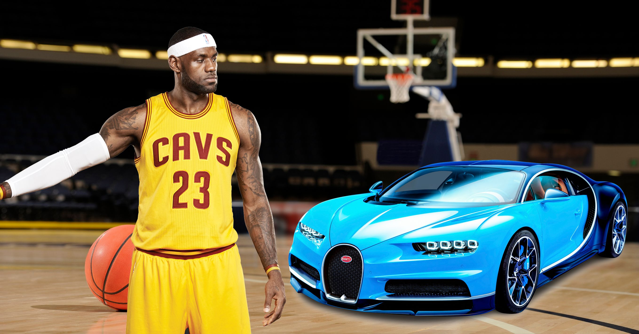 10 Athletes Who Drive Sick Sports Cars And 10 Who Drive Beaters