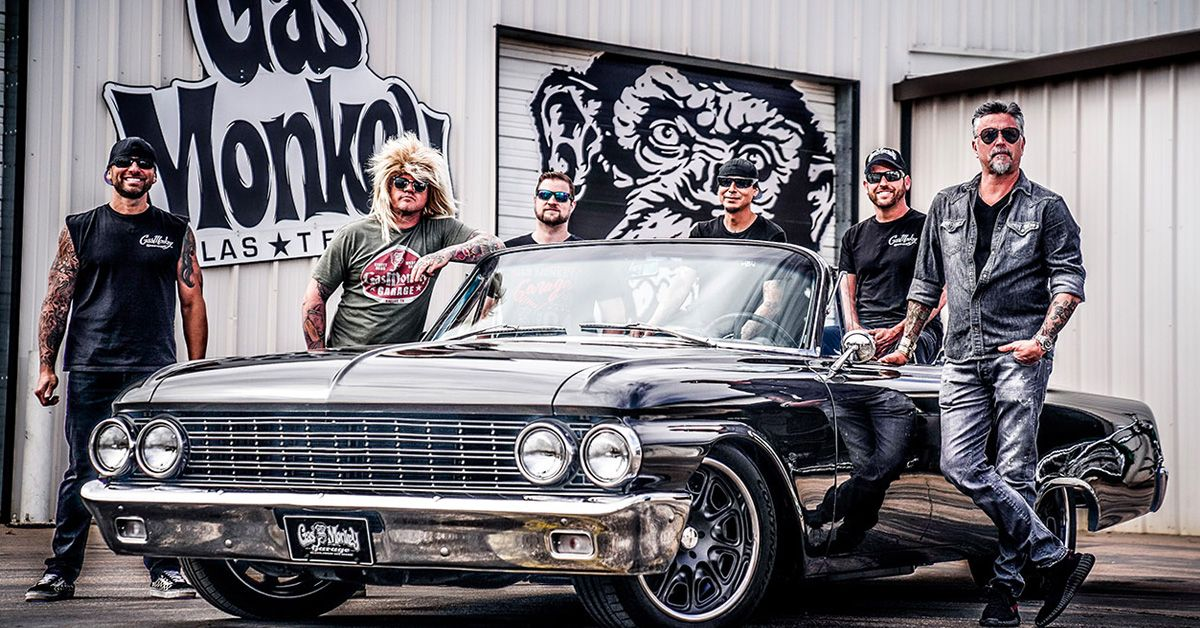 19 little known things about gas monkey garage that every fan should know. Black Bedroom Furniture Sets. Home Design Ideas