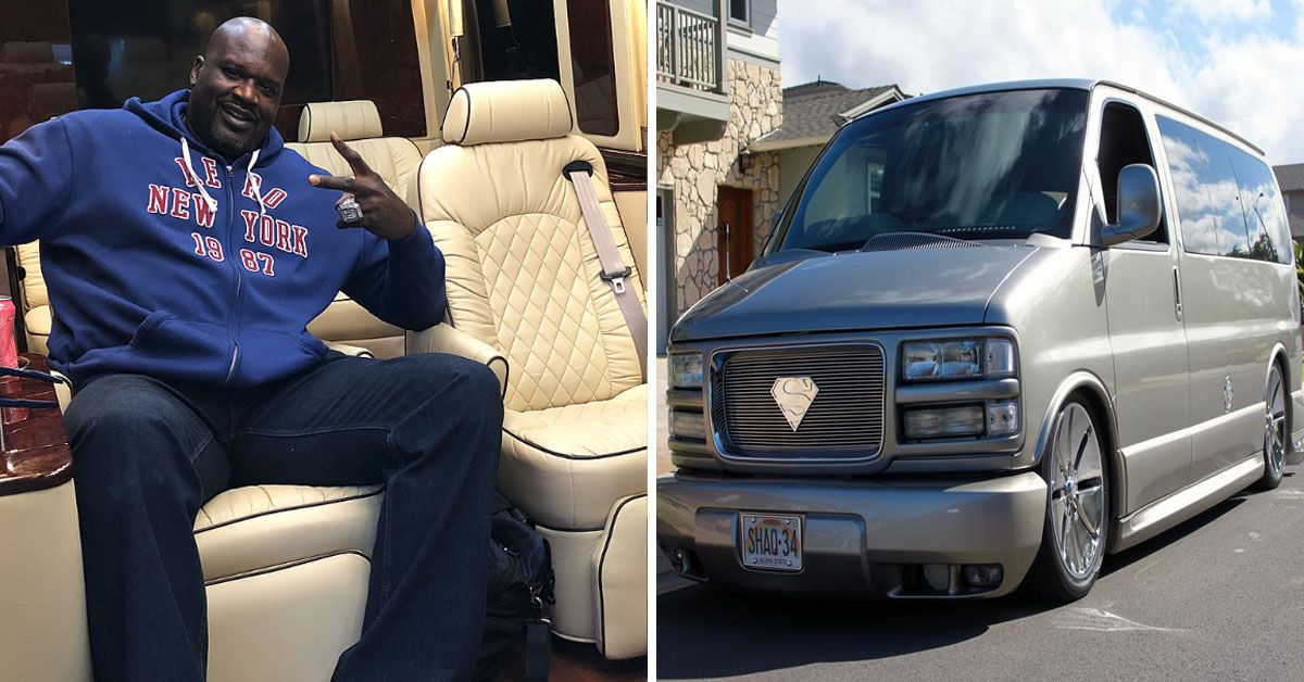 10 Rides In Shaq S Garage Anyone Can Afford And We Couldn T Even Dream Of