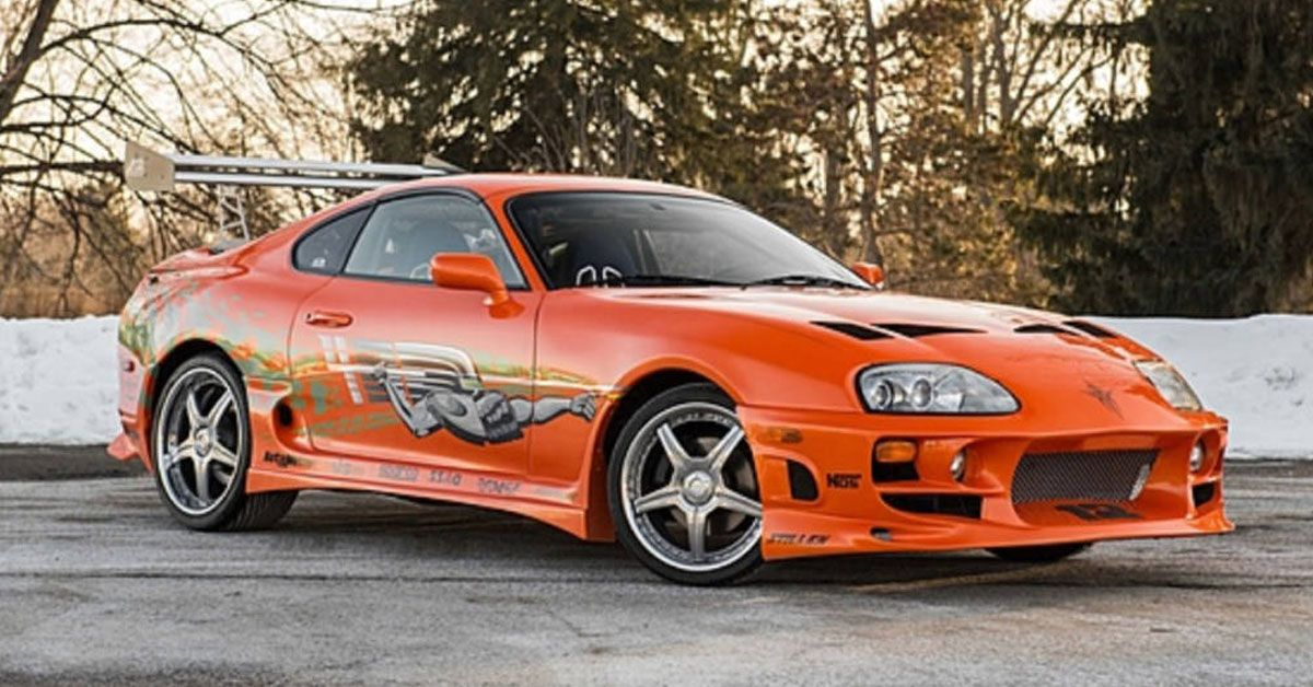 Fast And Furious: 20 Things Fans Should Know About Paul Walker's Supra