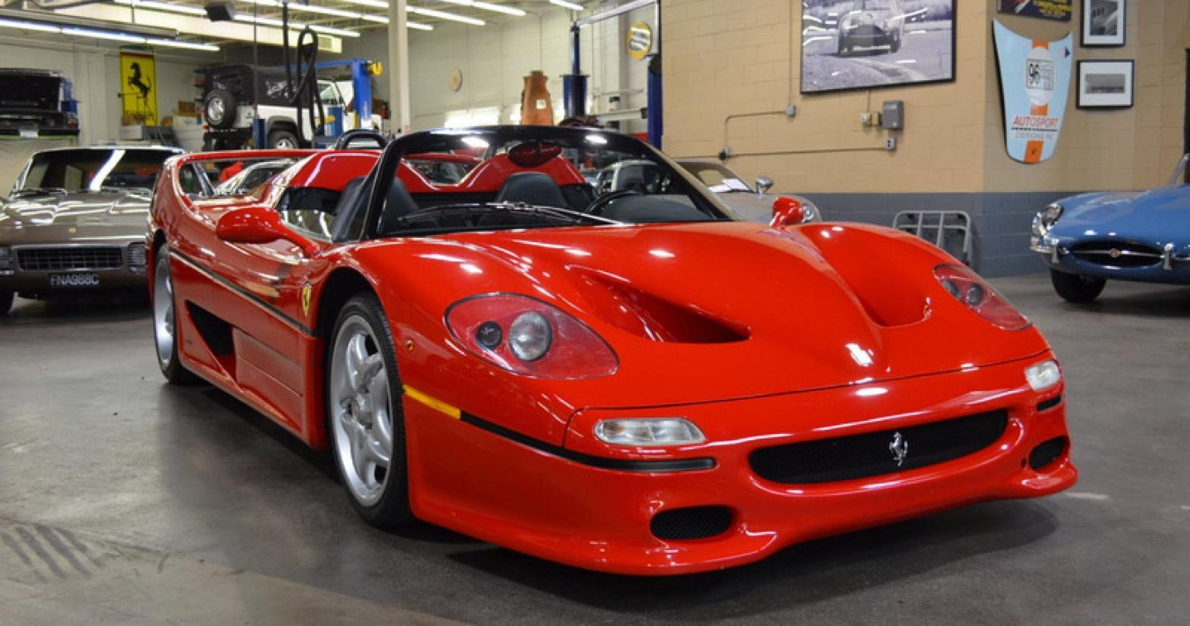 Historical Ferrari F50 Is Officially For Sale | HotCars