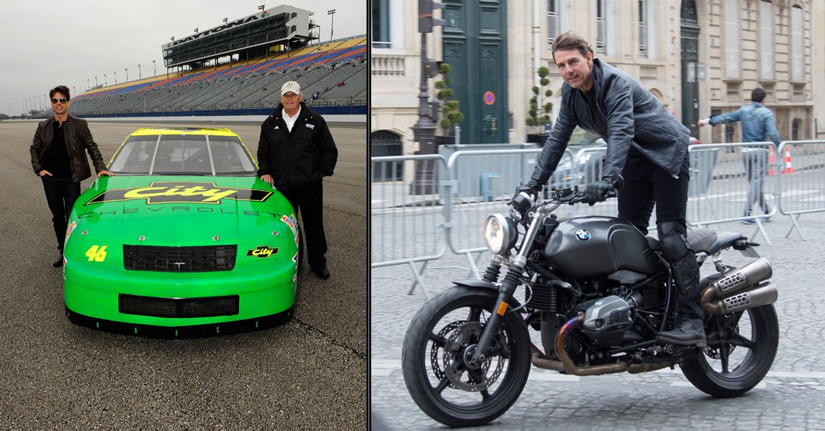 10 Motorcycles From Tom Cruises Collection And 9 Cars