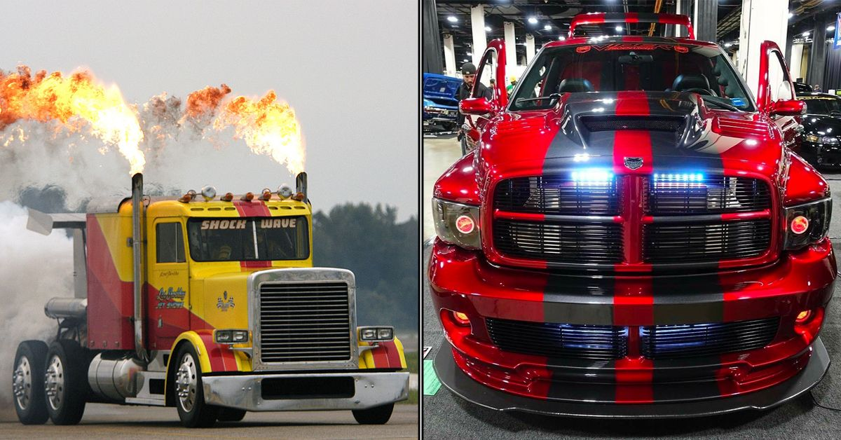19 Custom Trucks That Outclass Literally Anything Else On Wheels
