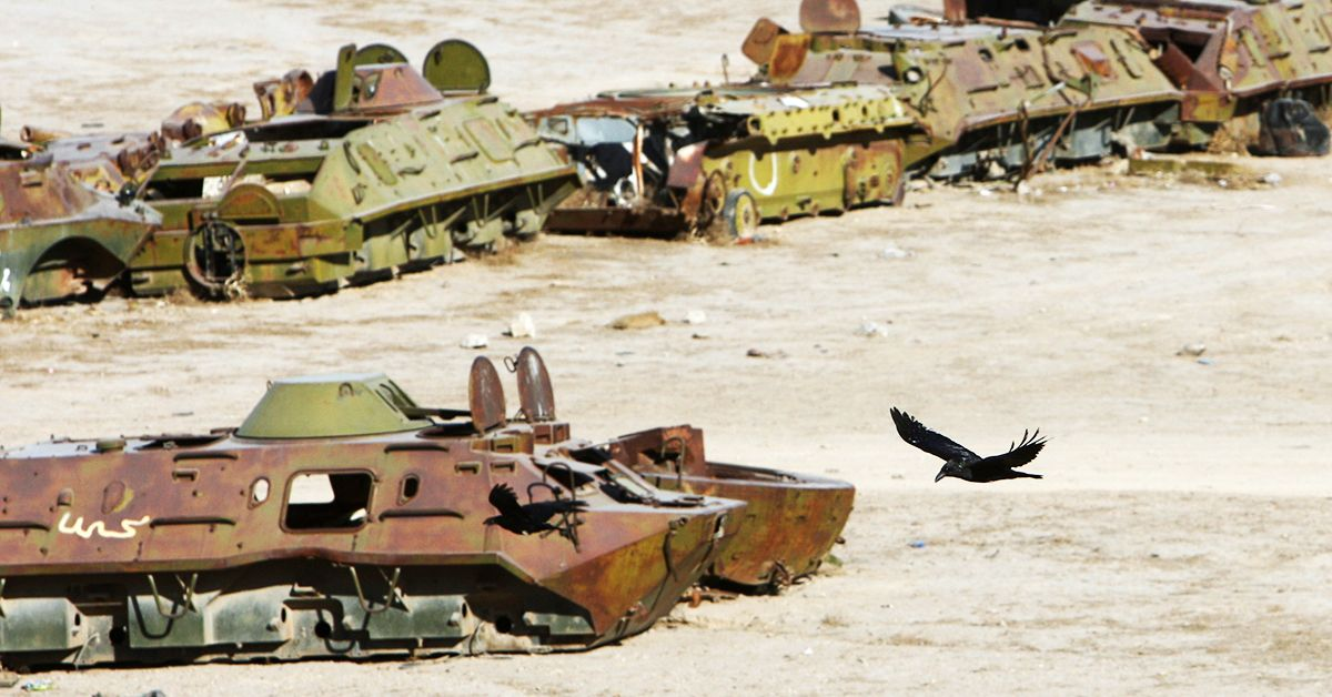 25 Pictures Of The Biggest Junkyards In The World | HotCars