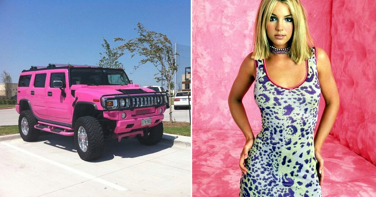 a0d58961b05 25 Pictures Of Pop Stars And Their Strange Cars