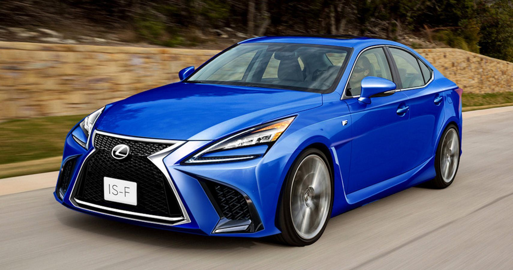 lexus to revive is f with twin turbo v6