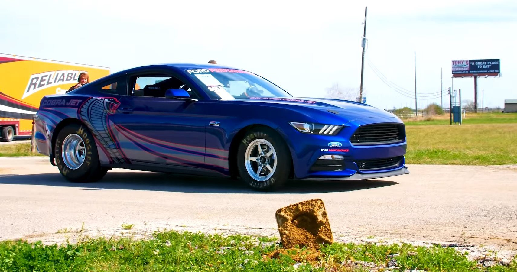 Watch Hennessey Dyno Test A Mustang Cobra Jet With Insane Power