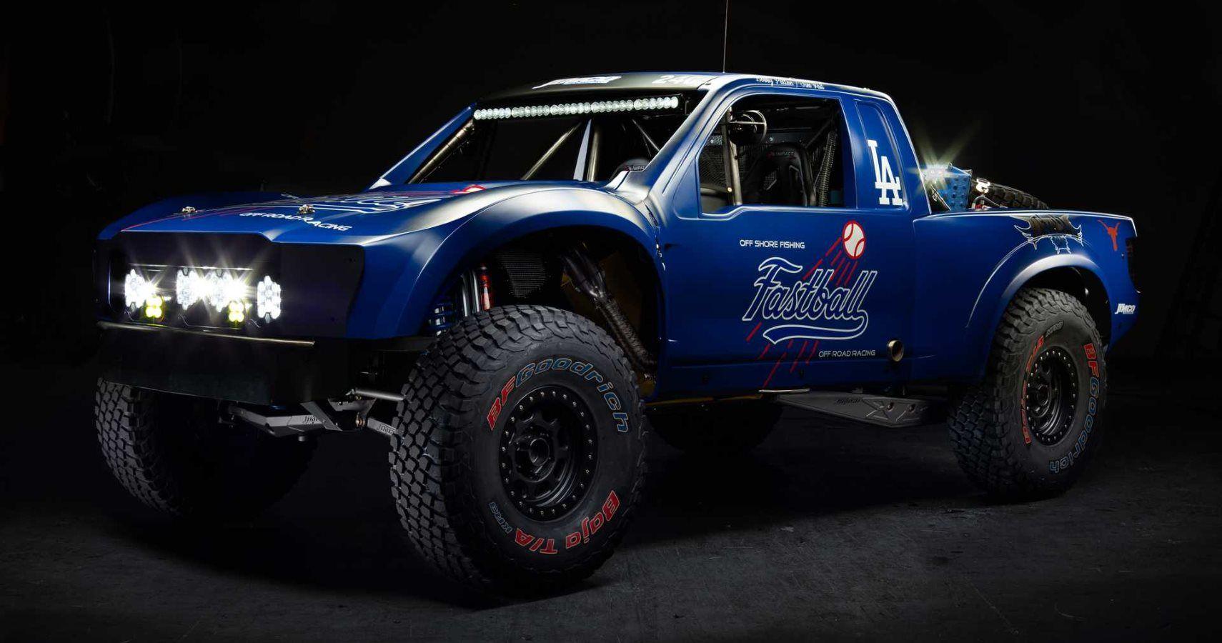check   custom ford raptor trophy truck built  la dodgers owner