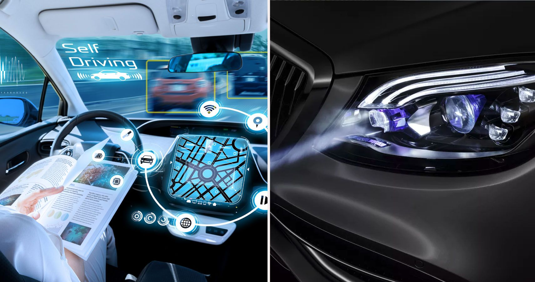 10 New Technological Features That Might Come Standard In Your Future Car