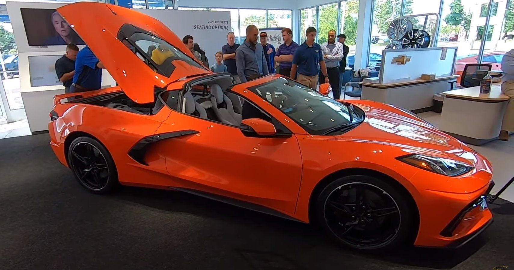 Get Inside The 2020 Chevy Corvette Stingray's Engine Bay ...