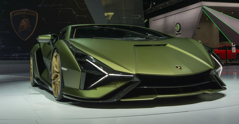 15 Things You Might Not Know About The 2020 Lamborghini Sian