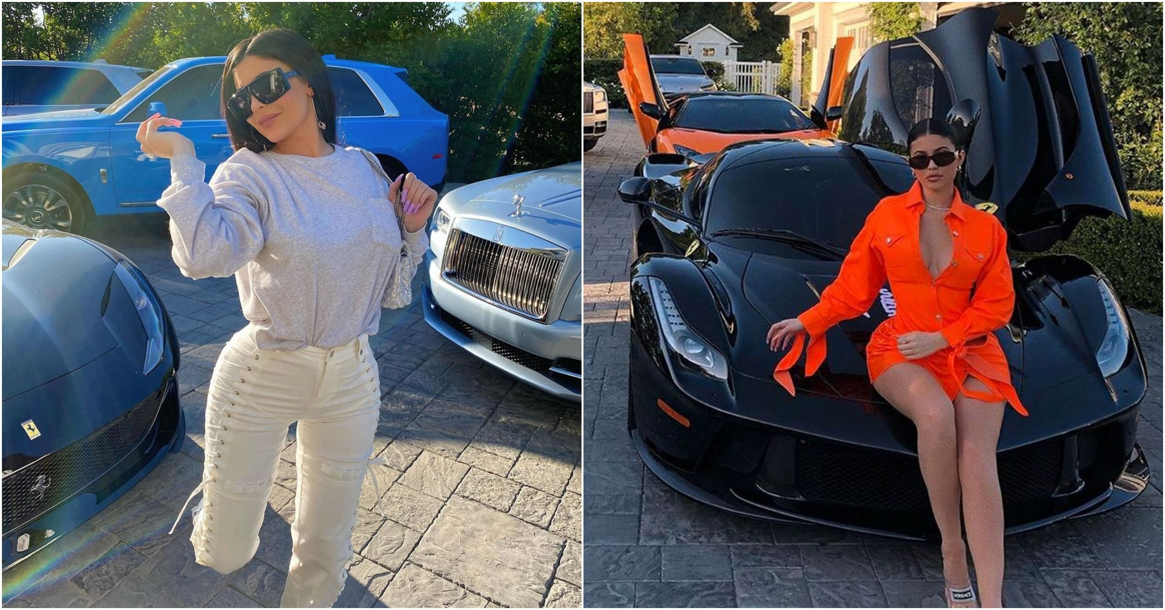15 Stunning Photos Of Kylie Jenner And Her Cars Hotcars