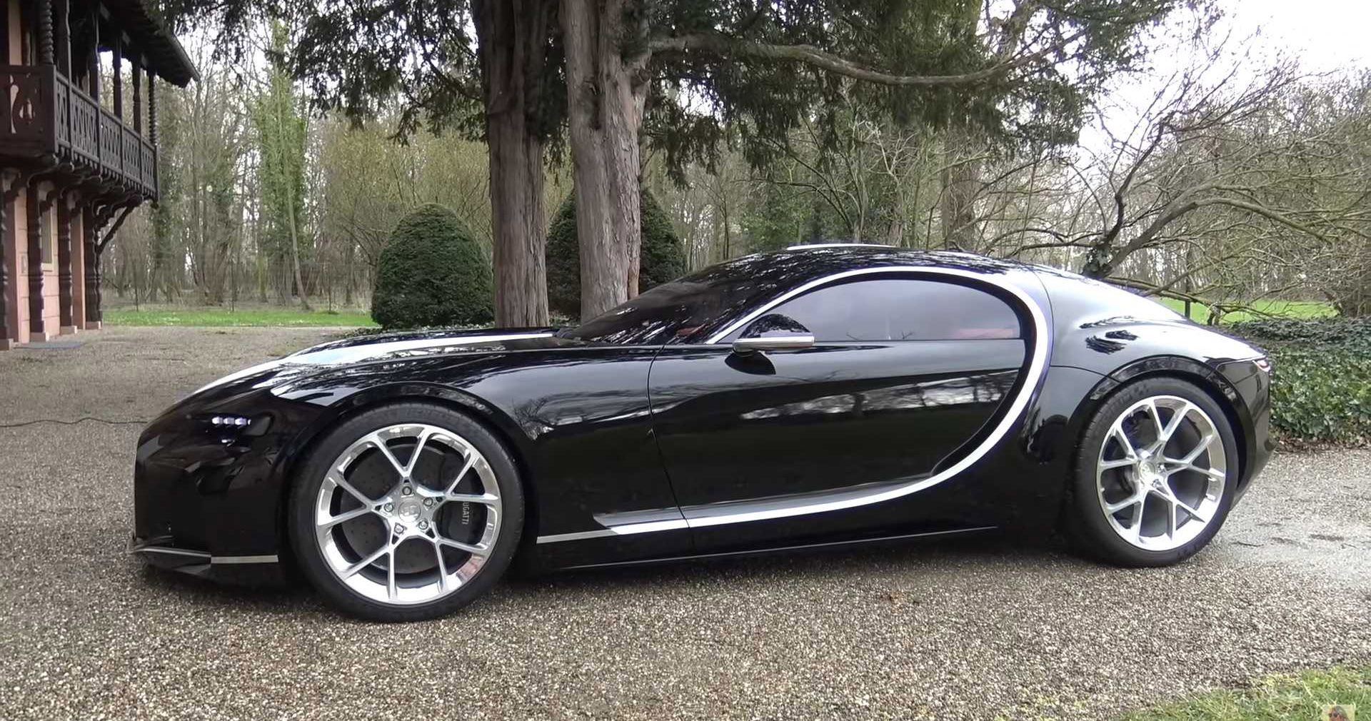 Supercar Blondie Checks Out Never Released Bugatti Atlantic