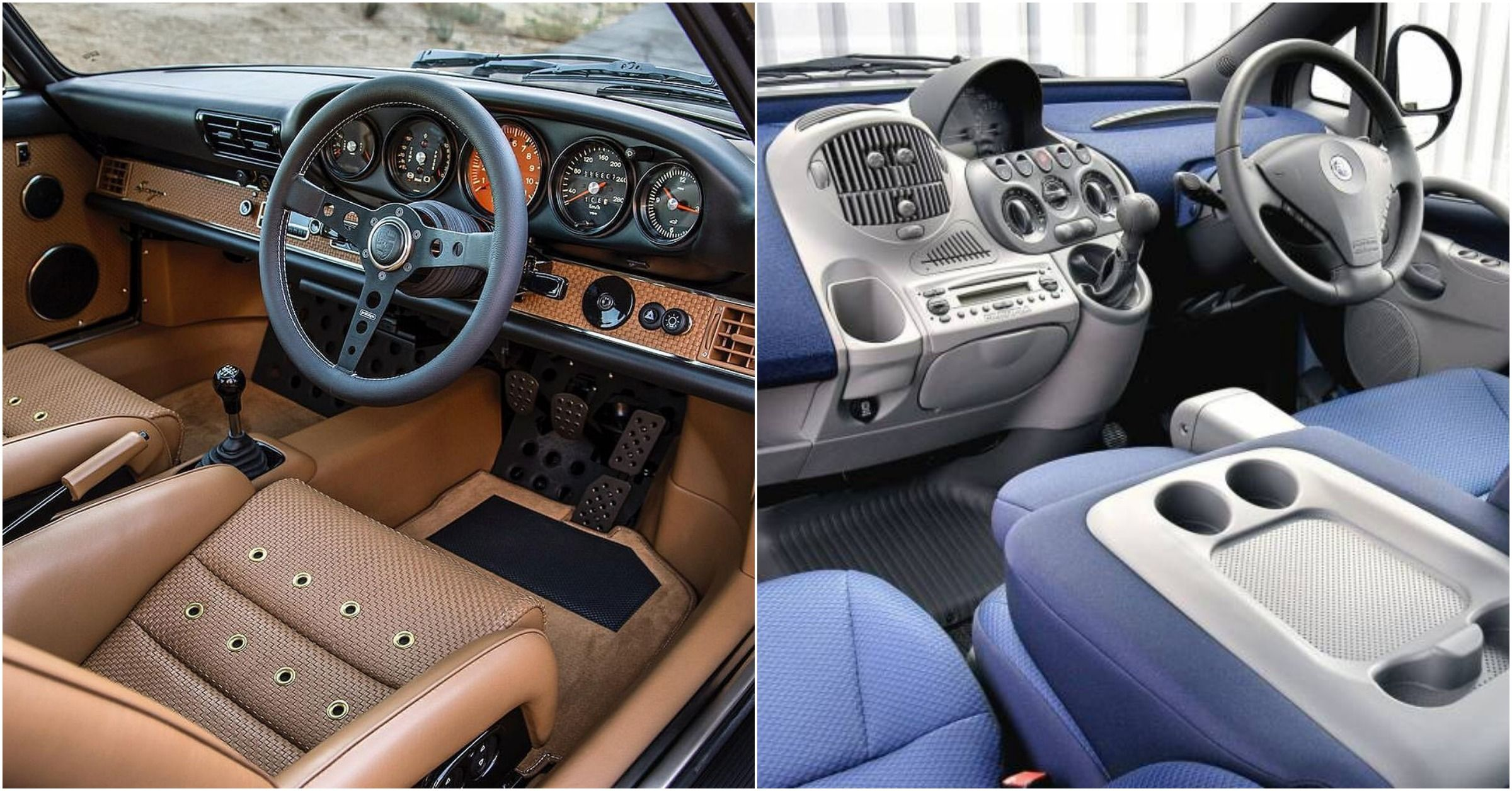 10 Ugliest Car Interiors Ever Made (5 That Are Stunning)