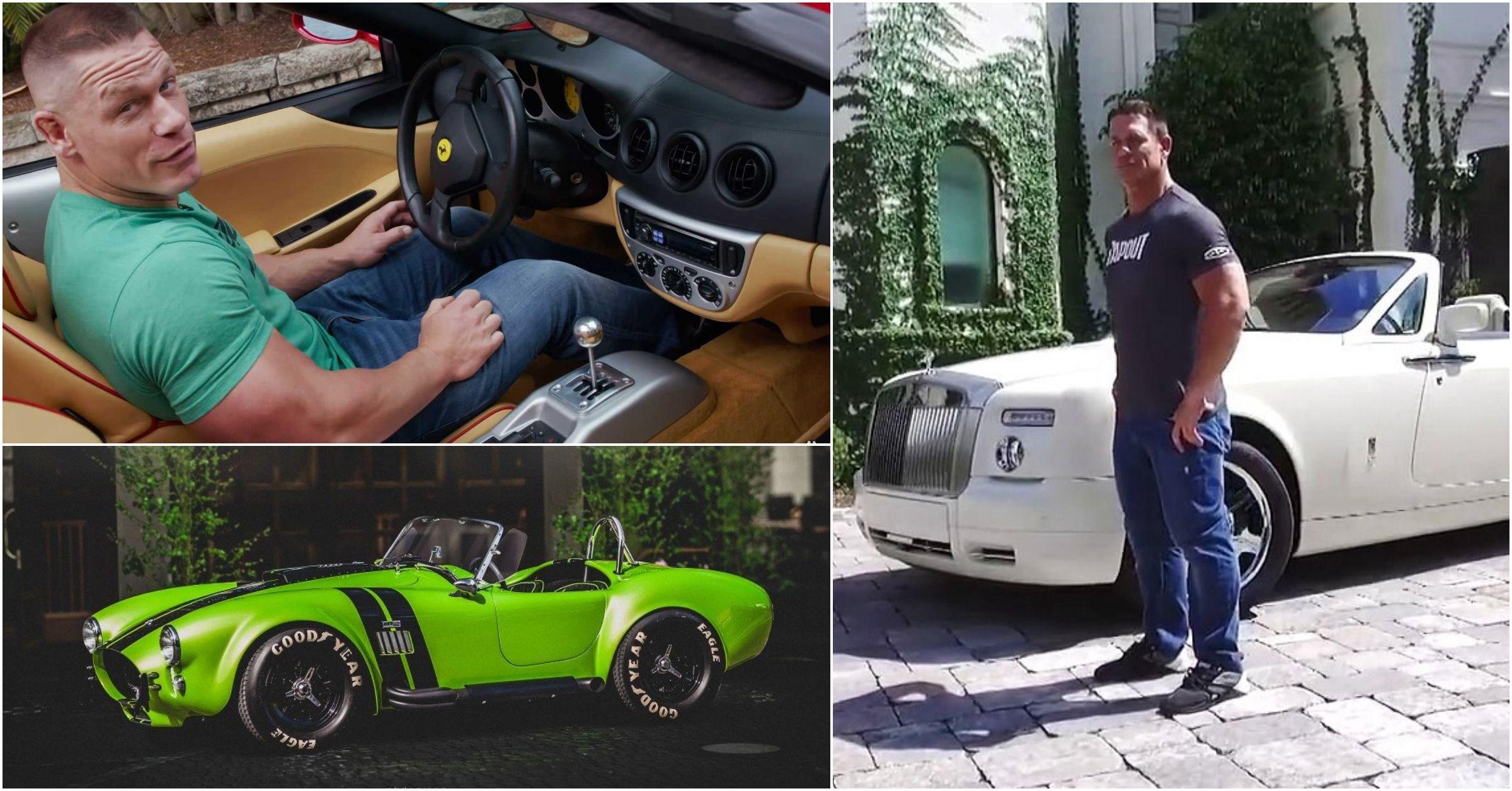 15 Coolest Vehicles Featured On John Cena's Auto Geek