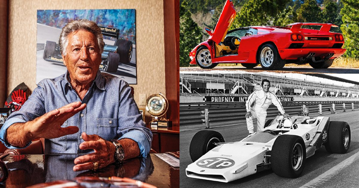 This Is Mario Andretti's Real Net Worth And What Cars He Drives