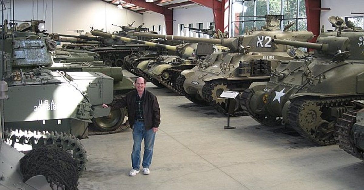 Here Are The World's Largest Private Collections Of Military Vehicles