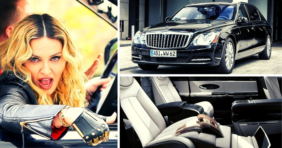What Most Fans Don't Know About Madonna's $1.4 Million Maybach