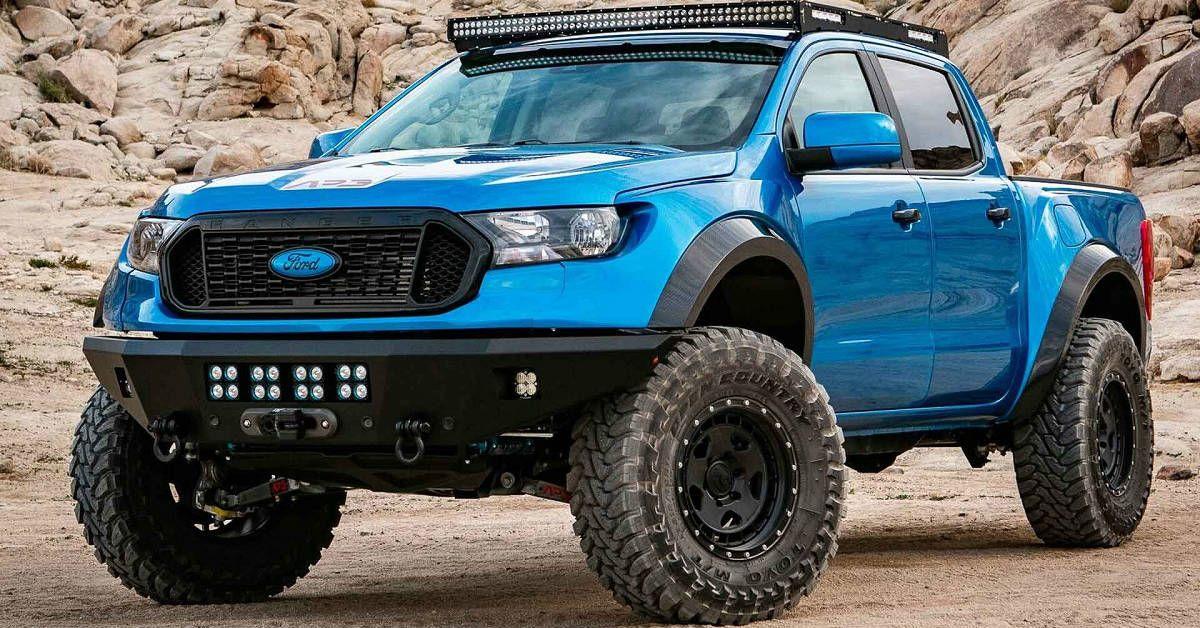 15 Sick Pics Of Custom Ford Rangers Hotcars