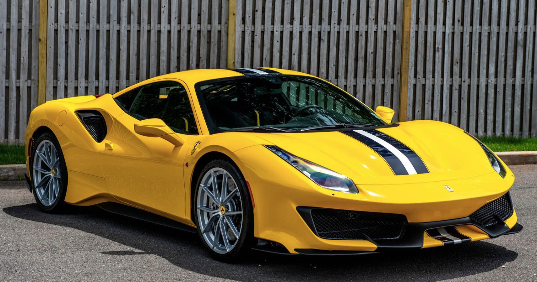 2019 Ferrari 488 Pista Is Appealing In Yellow And Track Ready
