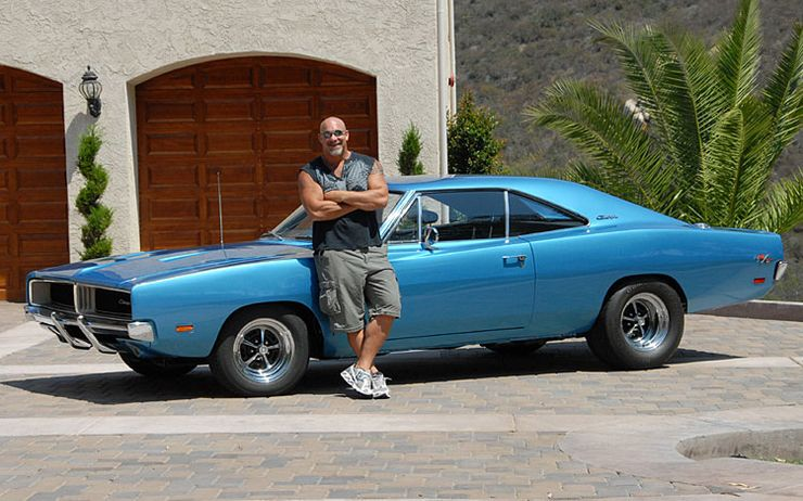 These Celebrities All Drive Amazing Rare Muscle Cars
