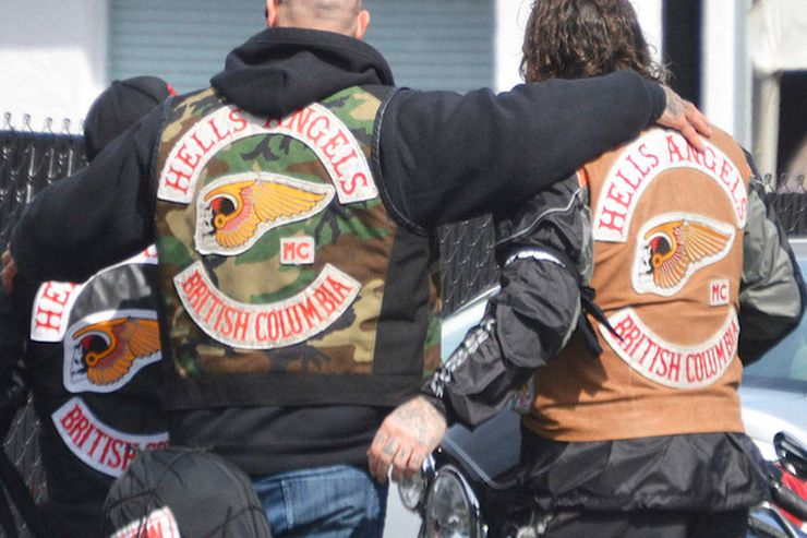 "Hells Angels Back Vests ""Death Head"" patches"