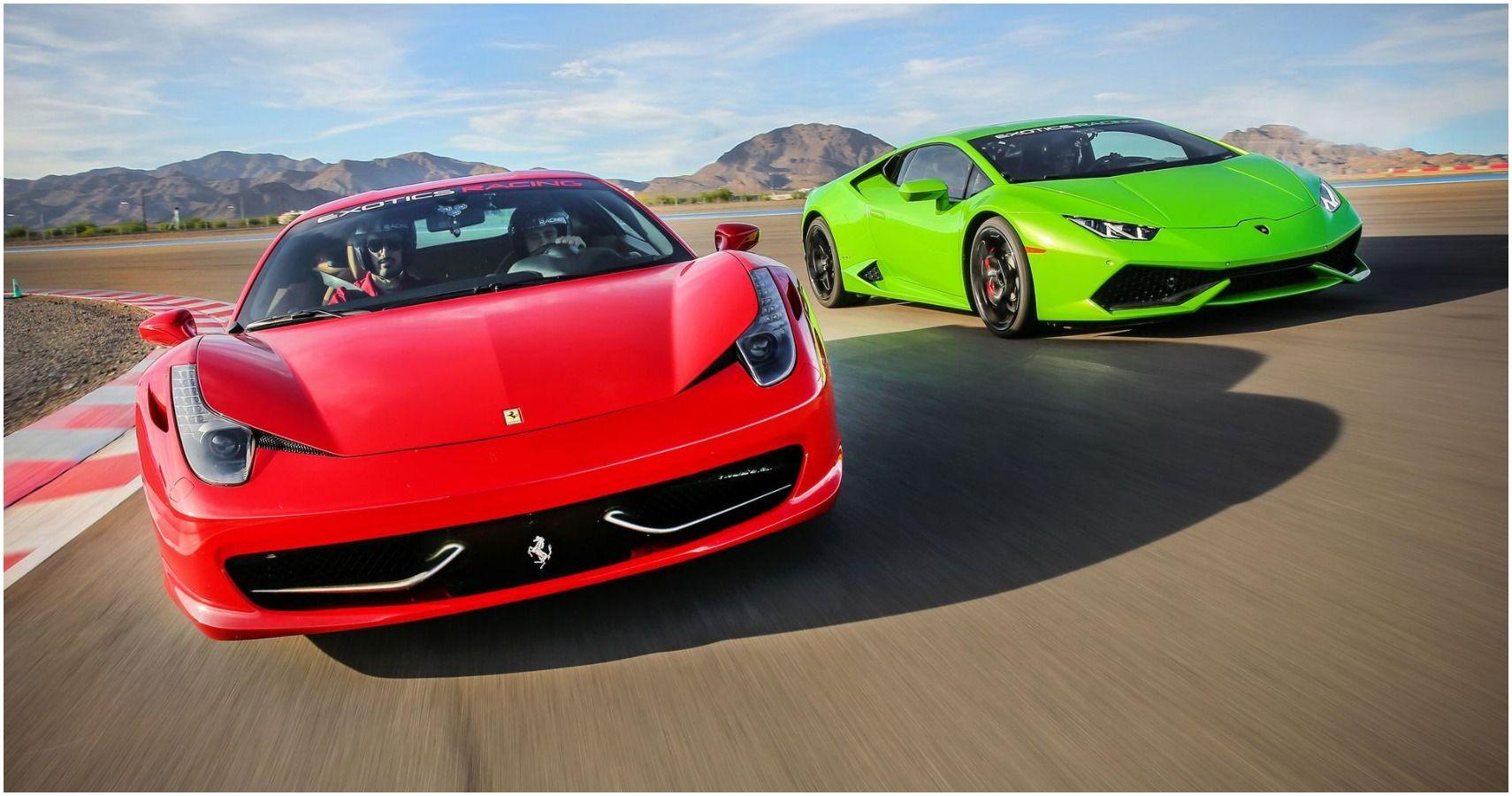 Ferrari Vs Lamborghini Who Really Has The Faster Supercars
