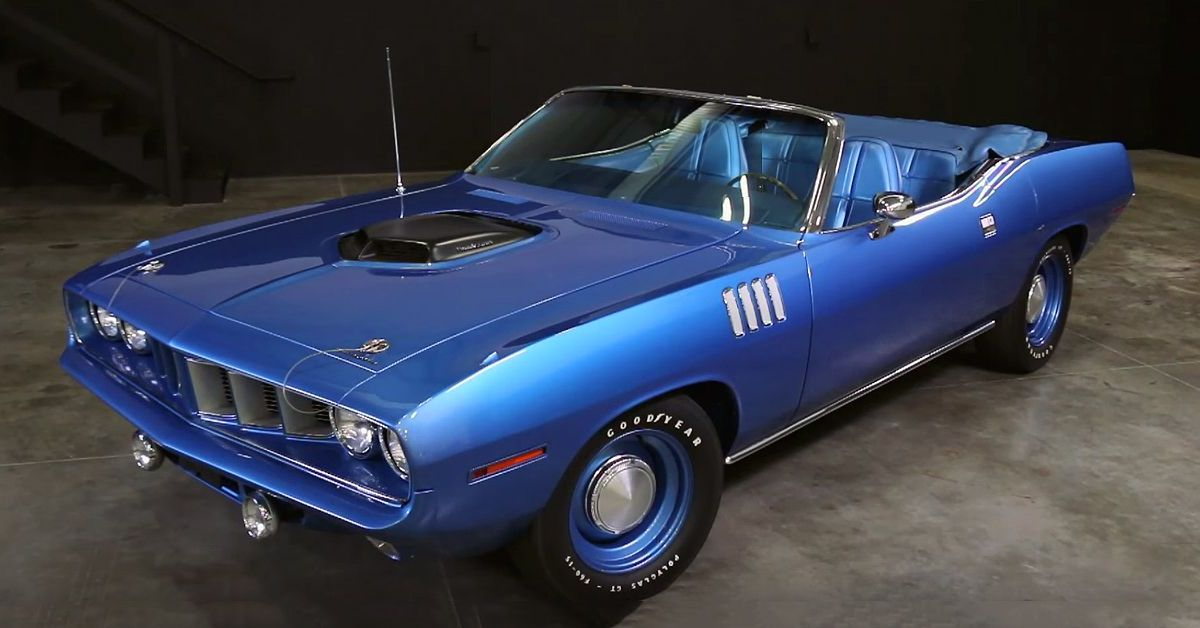 This Is The Rarest Plymouth Barracuda   HotCars