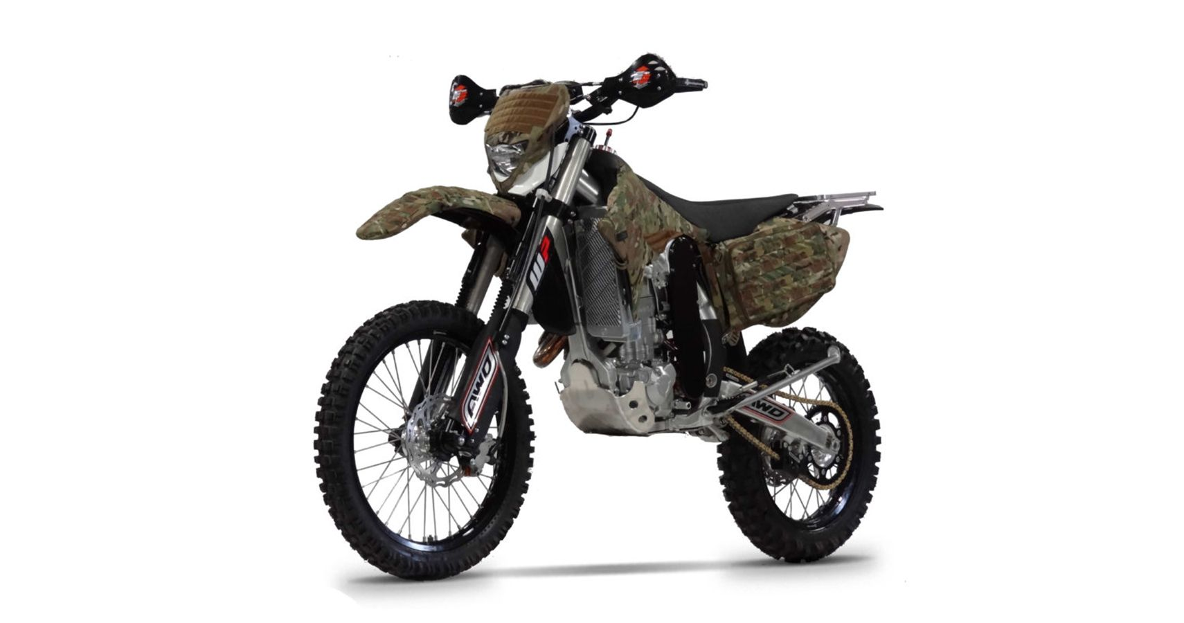 The U.S. Navy Seals' Christini AWD Military Bike Can Be Yours