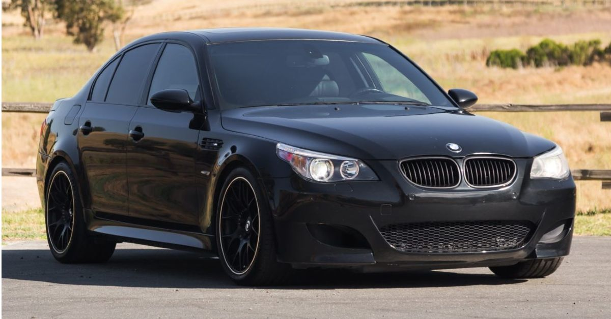 Here's Why The BMW E60 M5 Is One Of The Best Sleeper Cars