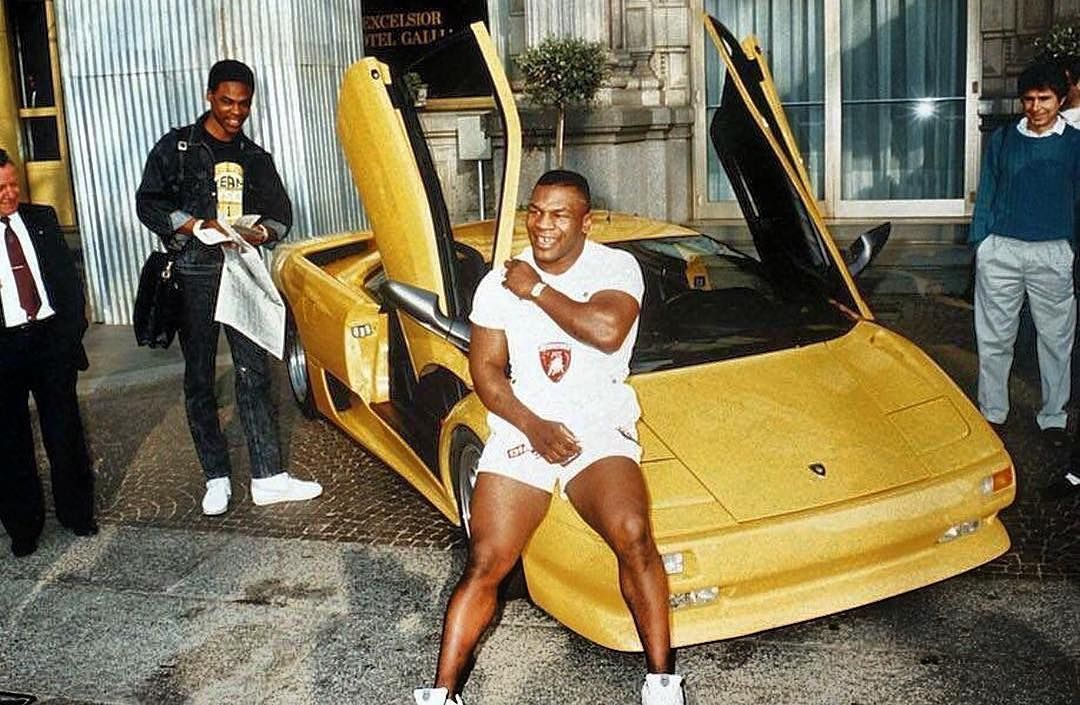 10 Things We Know About Mike Tyson's Classic Car Collection