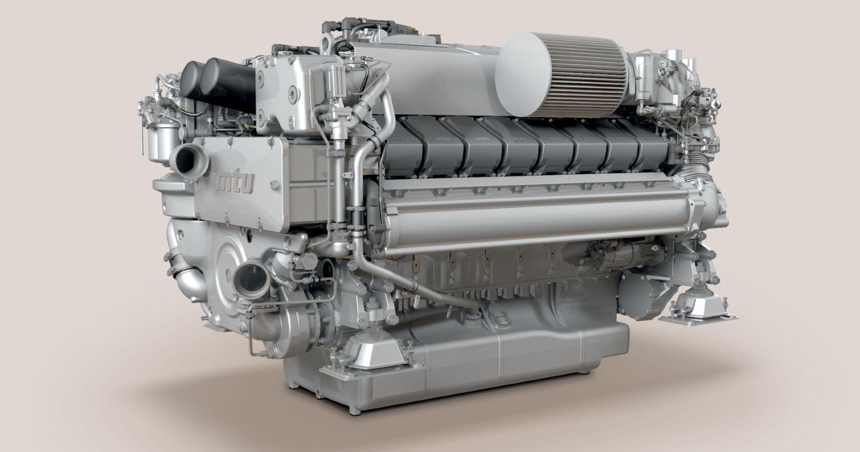 Rolls-Royce Upgrades Its MTU Yacht Engine, Giving It 2,000 Horsepower