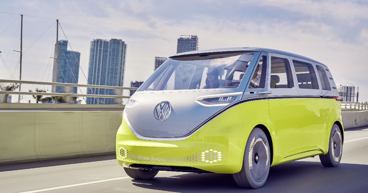 Here's Everything We Know About The 2022 Electric Volkswagen Bus