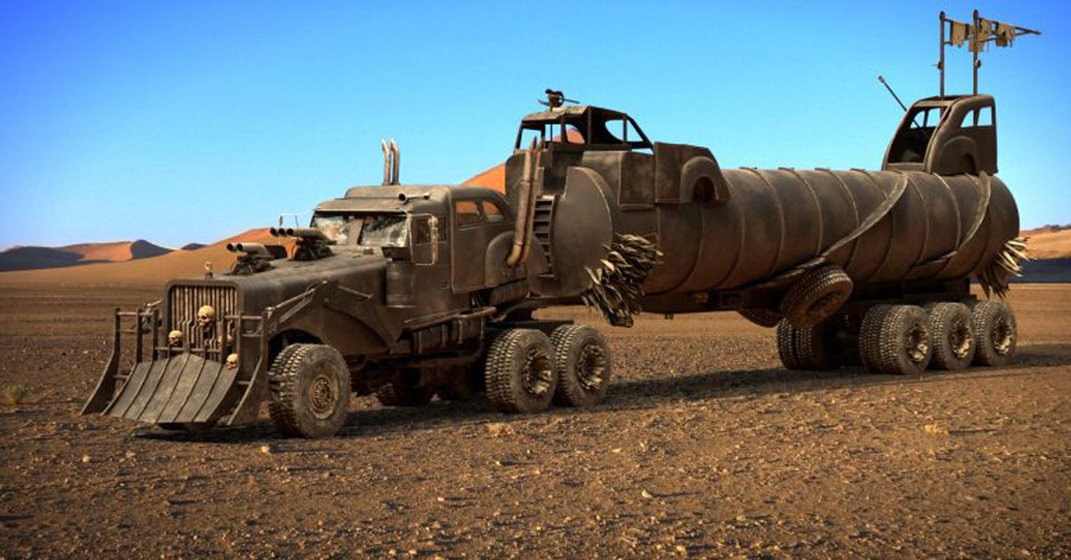 These Are The Modifications On The Tatra T815 Truck From Mad Max