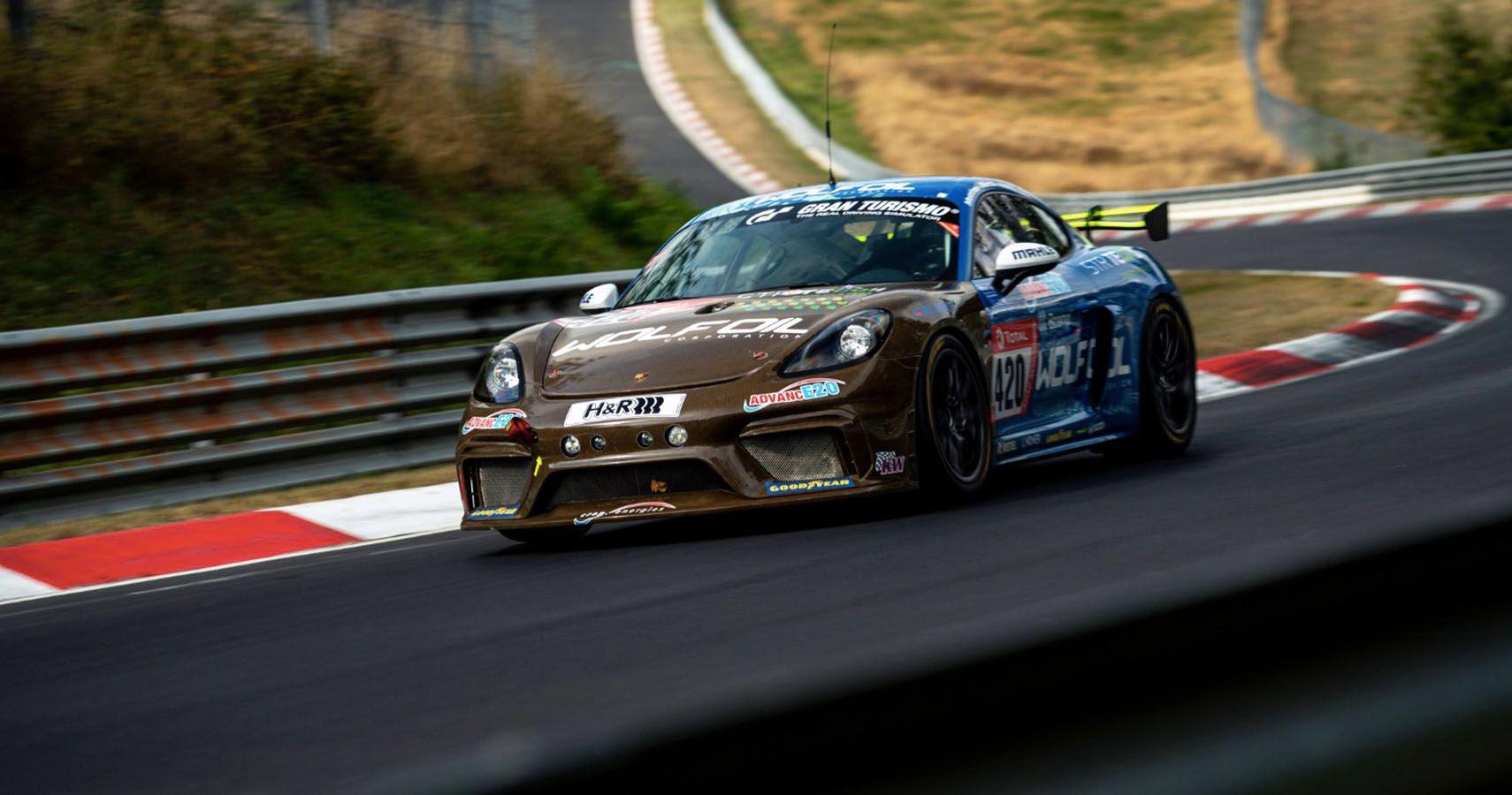 Porsche Unveils Natural, Renewable Race Car Bodies For 24 Hours Of Nurburgring