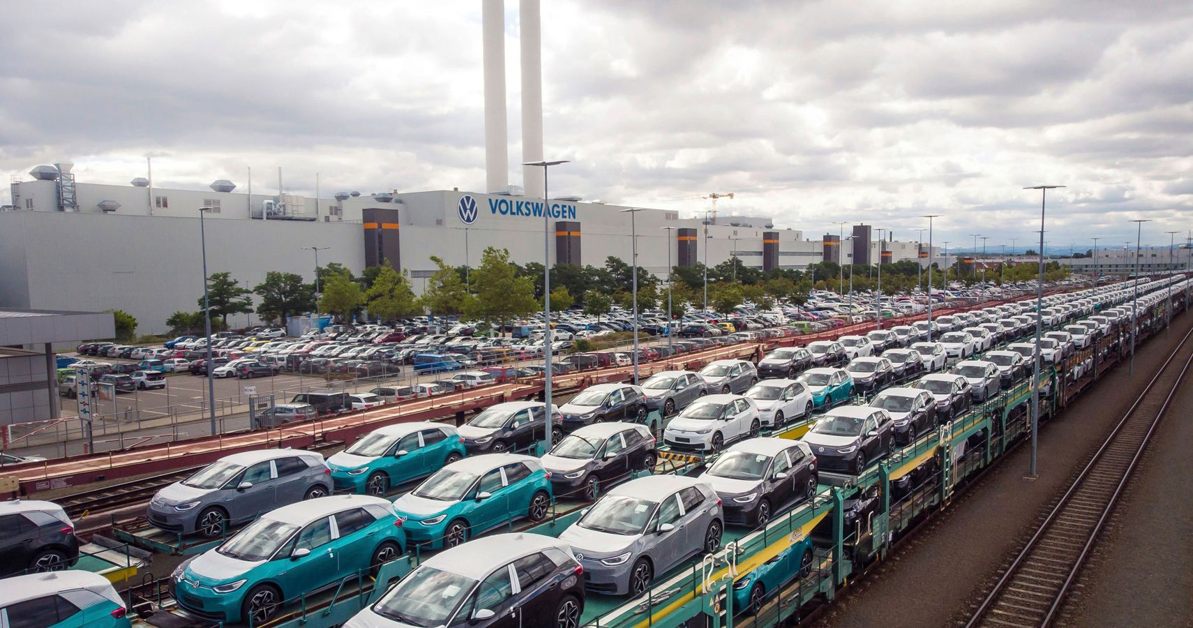 Volkswagen Chugs Along With A Green Conversion Of German Railroad