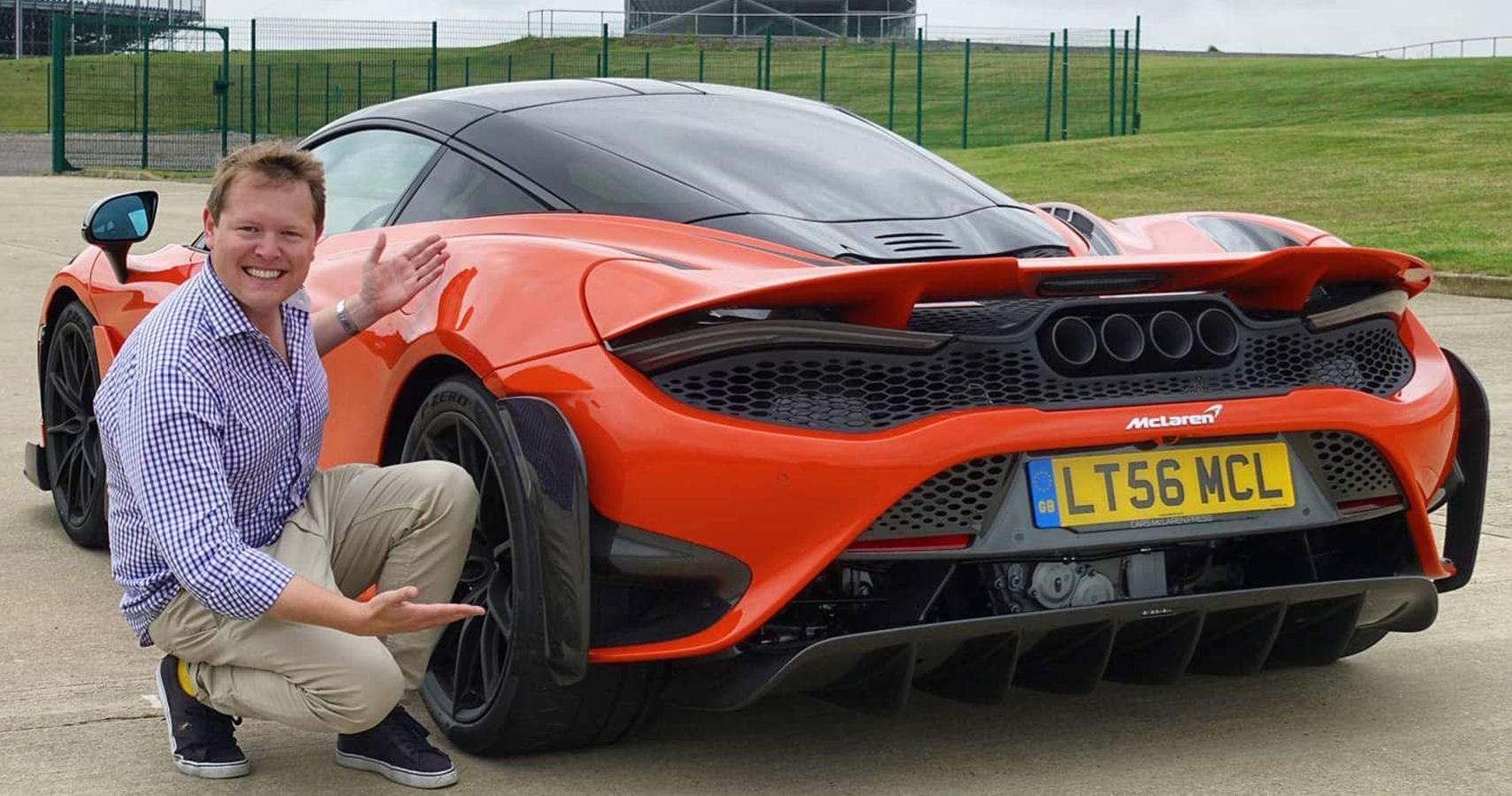 Shmee150 Drives A Brand New McLaren 765LT For The First Time