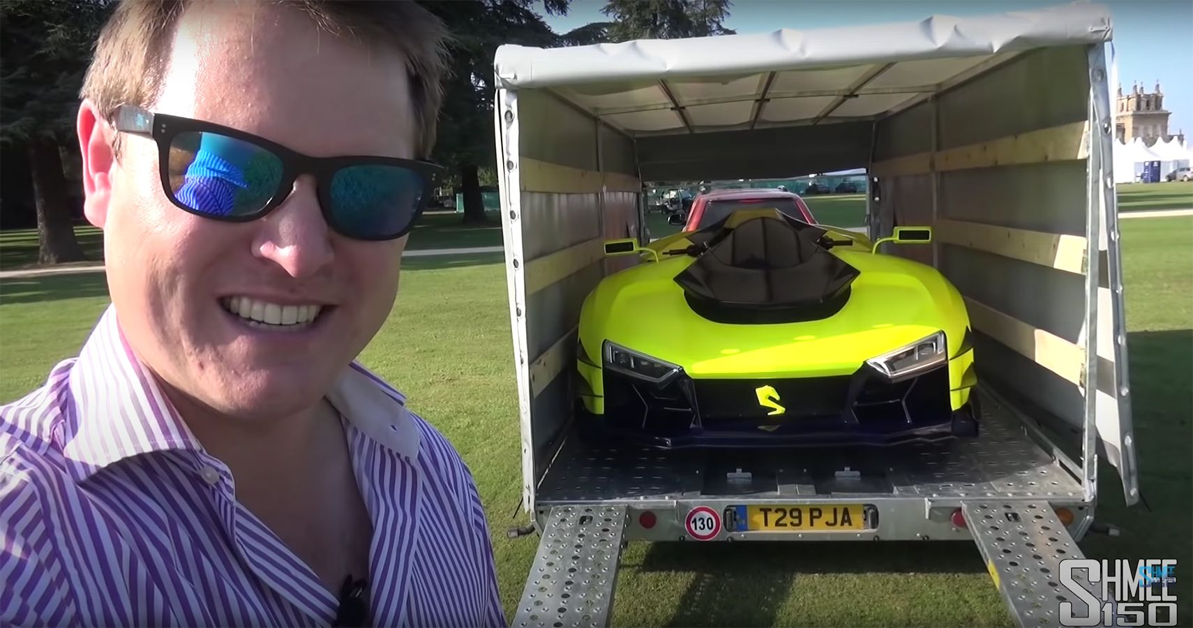 Watch Shmee150 Ride The 1,100-HP Engler FF Superquad With Care At Salon Prive
