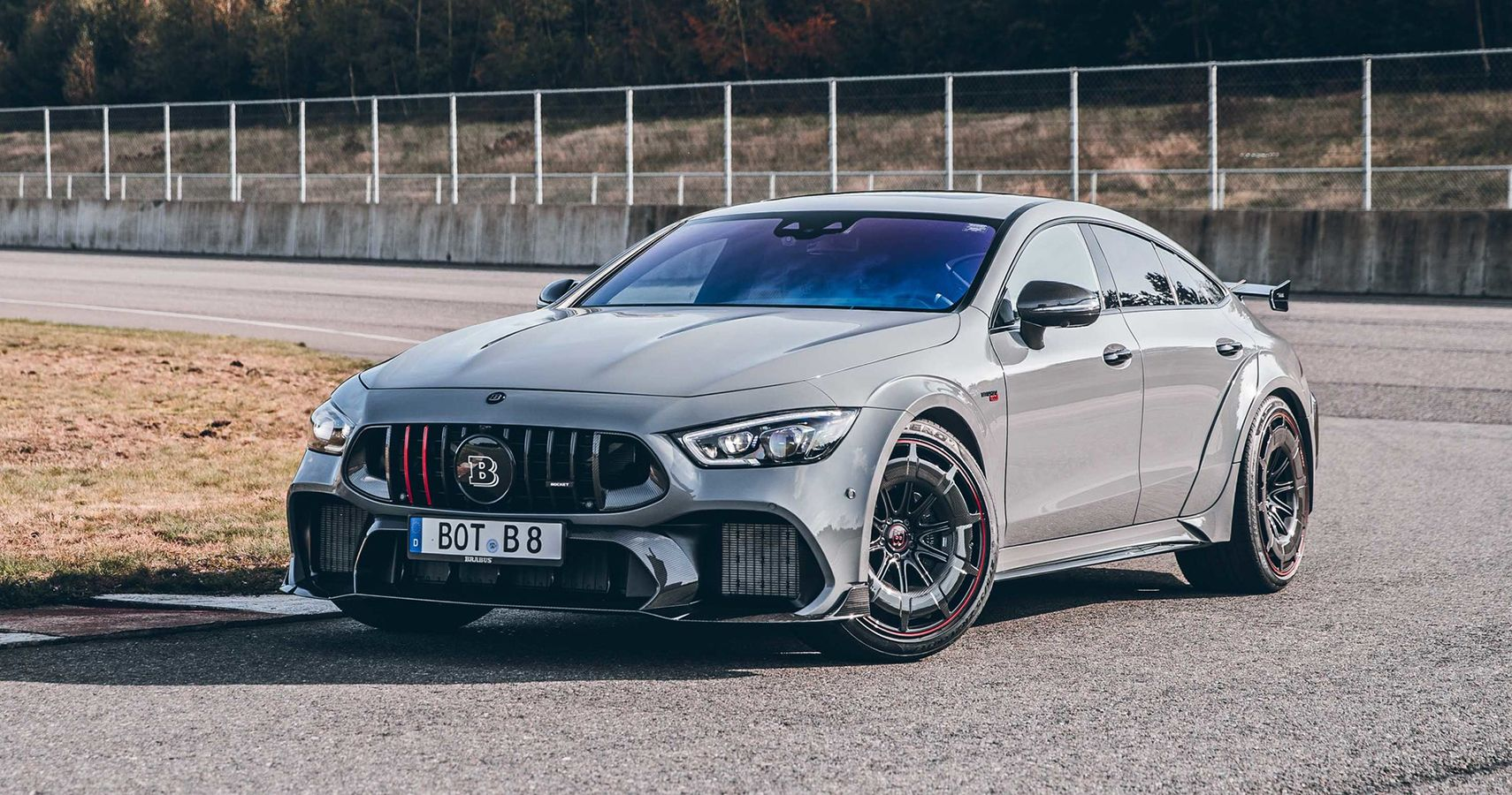 """Brabus Upgrades The Mercedes-AMG GT 63 S Into A Limited Edition Rocket 900 """"One Of Ten"""""""
