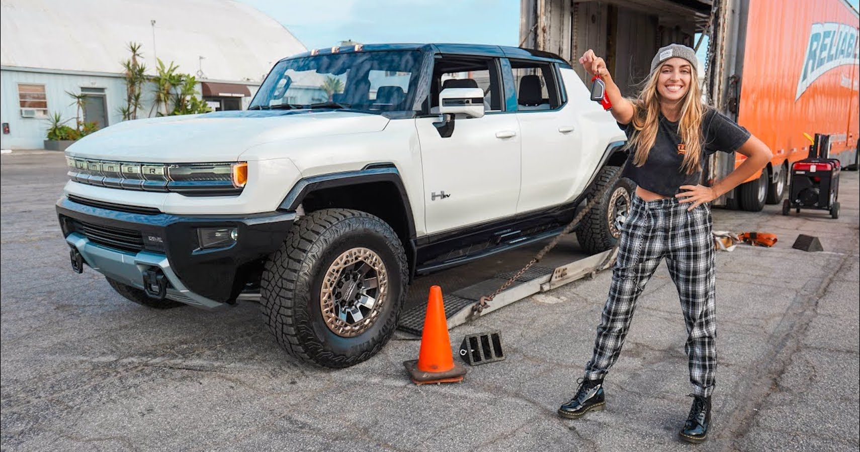 Emelia Hartford Uncovers All The 2022 Hummer EV's Hidden Easter Eggs You Don't Know About