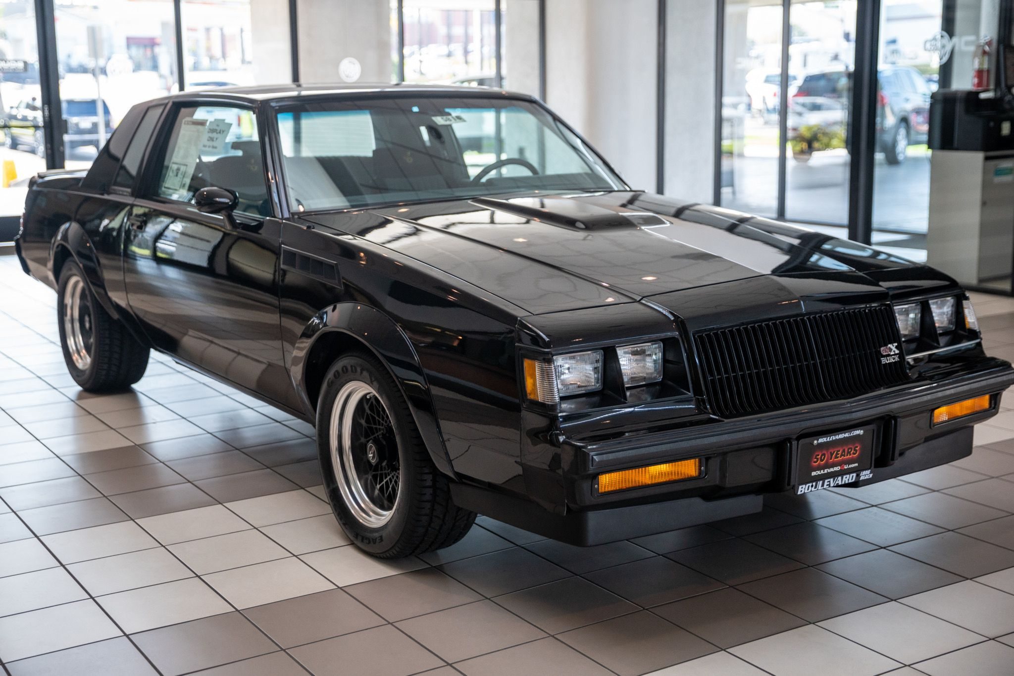 Here's Why The Buick GNX Was The Most Badass American Performance Car Of The '80s