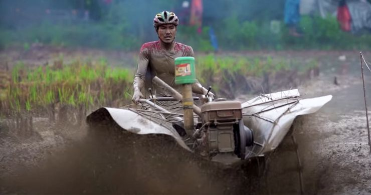 Racing Crazy Modded Farm Tractors In Rural Thailand Is A Sport