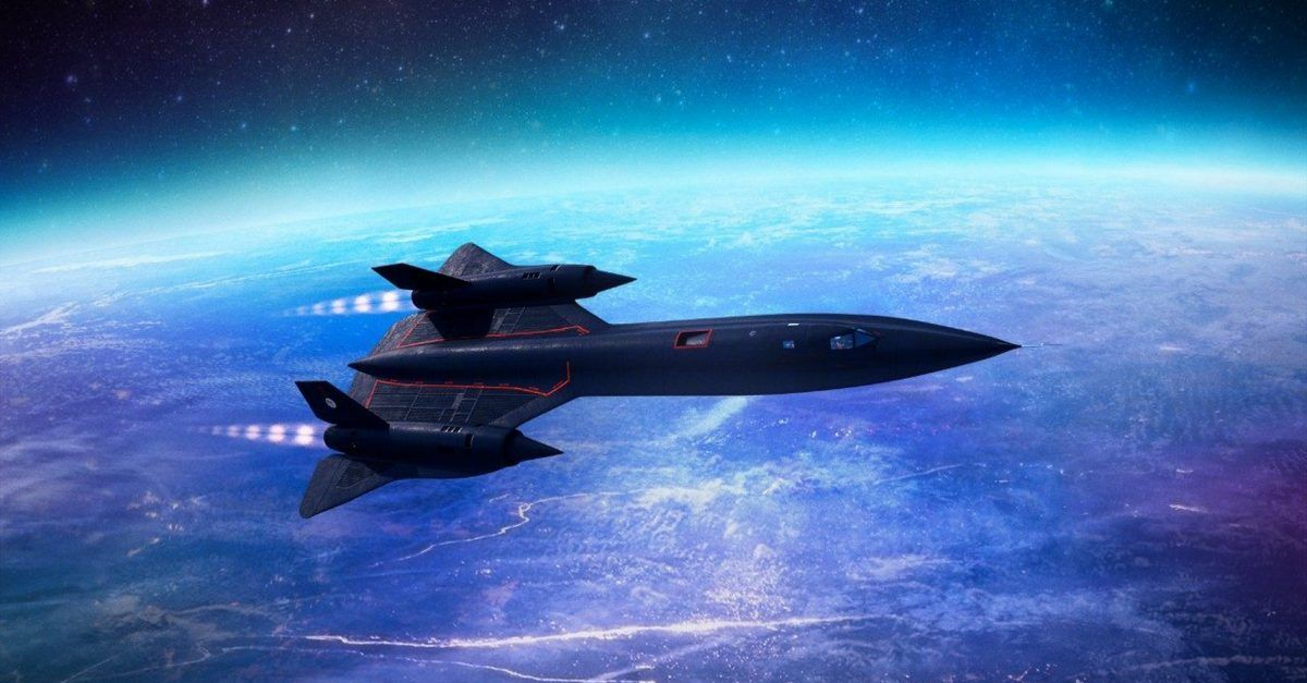 10 Amazing Facts About The SR-71 Blackbird