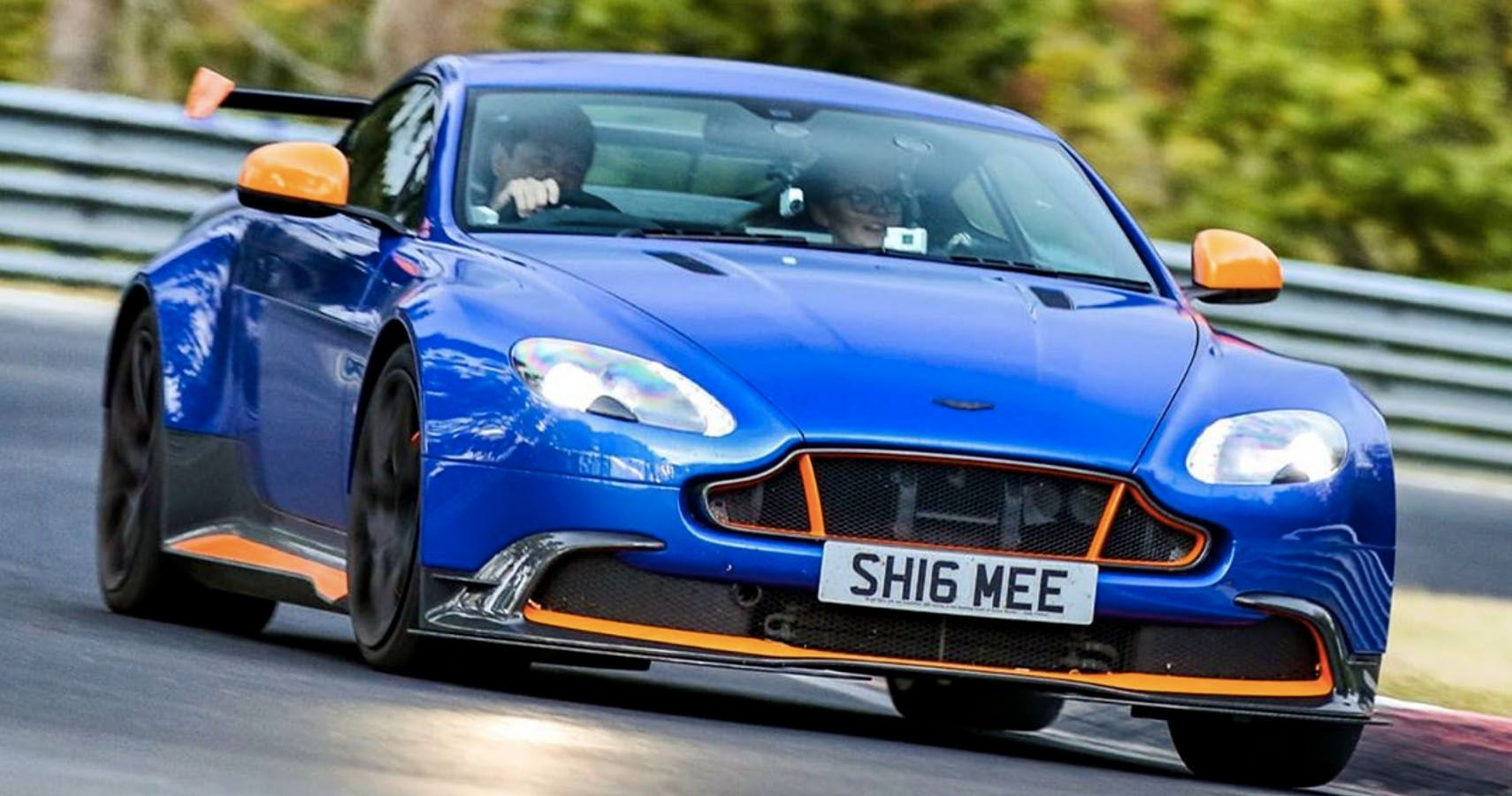 Watch Shmee150 Hit The Nurburgring In His Aston Martin Vantage GT8